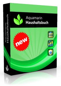 Aquamarin Haushaltsbuch